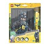 LEGO バットマン ザ・ムービー 日記帳 ノート ハードカバー バットマン インビジブルLEDペン付き