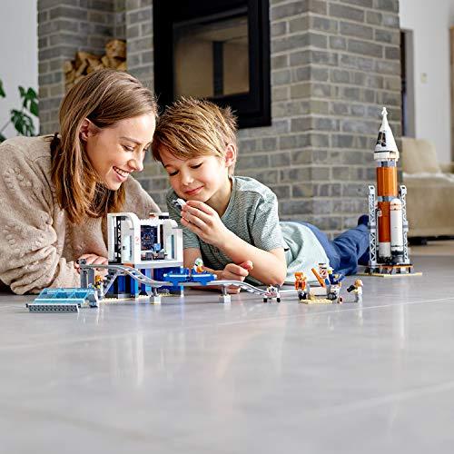 LEGO City - Cohete Espacial de Larga Distancia y Centro de Control (60228)