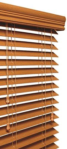 Lotus & Windoware 5,1cm sintética Madera Ciegos, 23por 243,8cm Roble