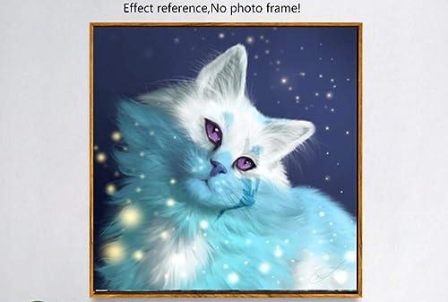 hasta un 50% de descuento XIGZI 5D 5D 5D DIY Diamante Pintura Animal Gato Bordado de Punto de Cruz Pegatinas de Parojo Decoración del Hogar Sin Marco  comprar nuevo barato