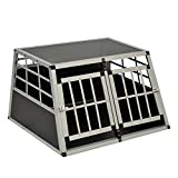 Hundetransportbox aus Aluminium (Double)