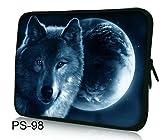 AUPET Wolf 11.6' 12' 12.1' inch Neoprene Tablet Laptop Soft Sleeve Bag Cover Case for Samsung Google 11.6' Chromebook PC
