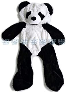 Wholesale Panda Lovers Teddy Bear Plush Shell Panda Skins Empty Coat Panda Plush Toy Skin Unstuffed Plush Animal Skins White 120cm