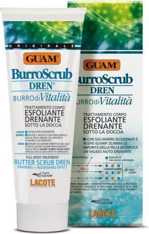 burro scrub dren ad azione esfoliante e drenante 200 ml