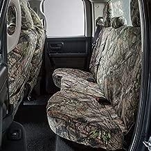 Covercraft Mossy Oak Camo Carhartt Custom SeatSaver Seat Covers | SSC7432CAMB | 2nd Row Solid Bench Seat | Fits 2011-18 Ram 1500 / 2019-20 Ram 1500 Classic / 2011-19 Ram 2500/3500, Break-Up Country
