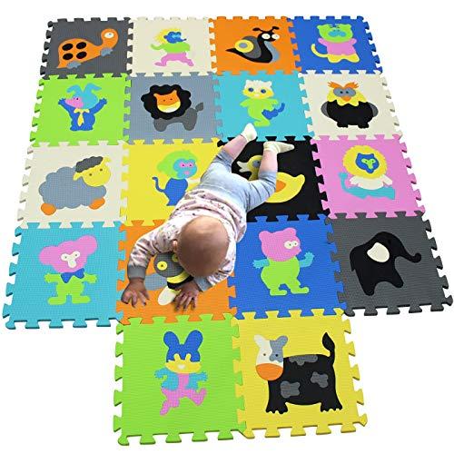 MQIAOHAM puzzle alfombrillas skip hop juego parques infantiles bebes acolchado manta tapete...