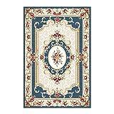 YWZNB Hohe Qualität Traditioneller Klassischer Teppich, Wohnzimmer Nordic Couchtisch Decke Heim Griffige Absorbent Breath Mat,A,80×160cm