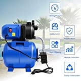 1200W Garden Water Pump Shallow Well Pressurized Home Irrigation 1000GPH House Hardware Pumps Sprinkler, Booster & Irrigation, Swimming Pool, PlayGround, Tall Building Business Accessories Plumbing
