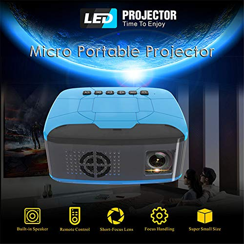 Projector, Portable Mini Projector ondersteuning 1080P Max 100