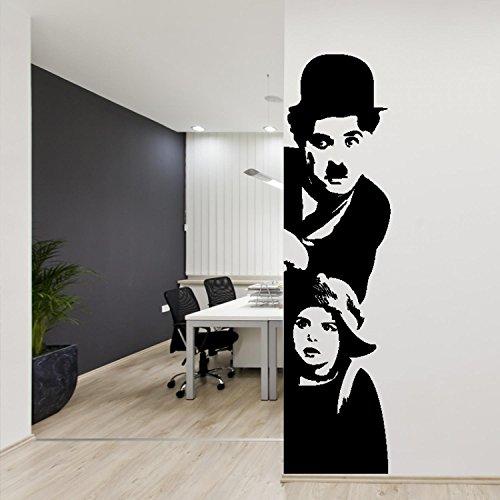 Adesiviamo Wall0000930 N L Adesivo Murale, PVC, Nero, 33 x 130 cm