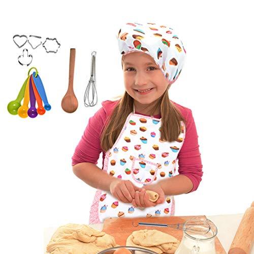 Raspbery Utensilios de Cocina Herramientas para Hornear Pastel Delantal Herramientas para Hornear en la Cocina Niños completos para cocinar Juego de Juguetes para Hornear