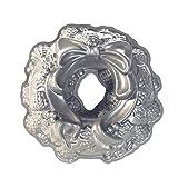 NordicWare 85348 Pastel Diseño de moldes de Aluminio Fundido Guirnalda del día