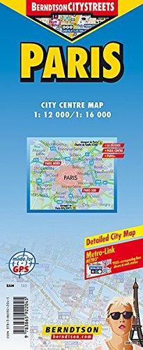 Paris: 1:12 000/1:16 000 +++ Disneyland, La Défense, Paris Centre, Paris+, Public Transport (RAPT Métropolitain), Time Zones