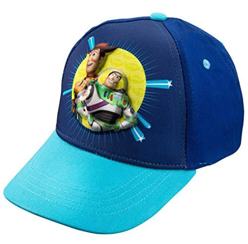 Disney Pixar Boys Toy Story 4 Buzz Lightyear Baseball Cap (Blue)
