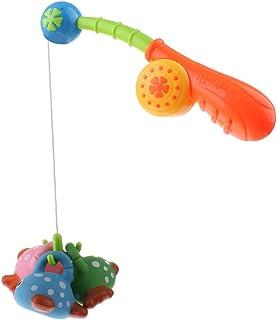 Homyl 4pcs Cute Fish Rod Playset Kids Baby Toddler Fishing Pretend Role Play Games Hand-Eye Coordination Developmental & B...