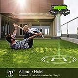 Potensic Mini Drone RC Helicopter Quadcopter para Niños y Principiantes con Control Remoto, Modo sin Cabeza, la Función de Suspensión de Altitud, 3 Modos de Velocidad, 2 Baterías, A20 Verde