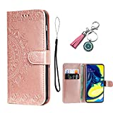 AncaseLeather Phone Case for Samsung Galaxy A6 2018 Flip