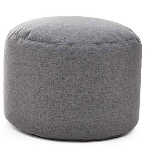 XLEVE Sofá de heces - Descanso Taburete Redondo sofá heces Muebles Modernos, Cubierta Lavable, Desmontable