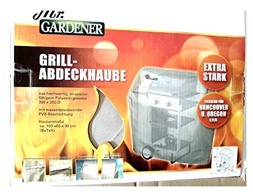 Mr. Gardener Grill-Abdeckhaube 100x60x90 cm - 100% Polyester/PVB
