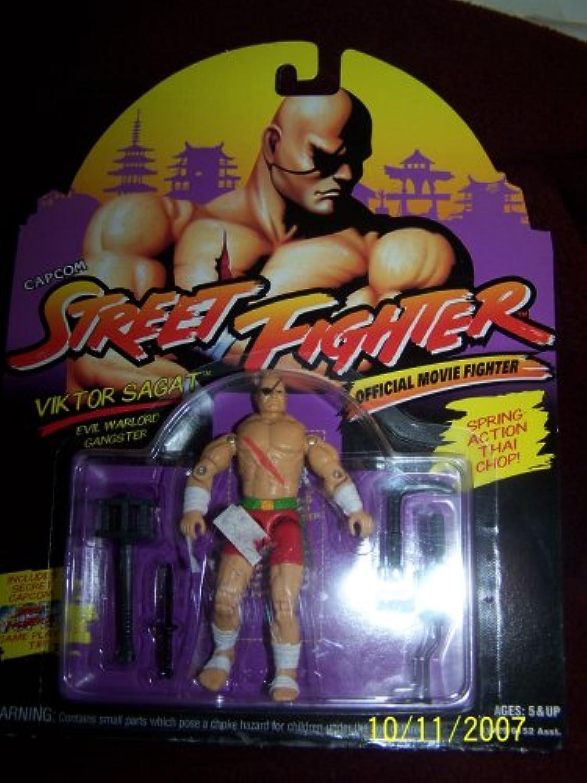 Capcom Street Fighter Movie Action Figure Sagat MOC