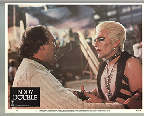 MOVIE POSTER: Body Double-Dennis Franz-Gregg Henry-Color-Lobby Card-11x14-FN