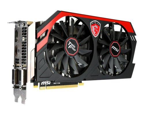 MSI Nvidia GTX 780TI Twin Frozr IV LE PCI-E-Graphikkarte (3GB, 902Mhz, 7.000Mhz, 384Bit, GDDR5)