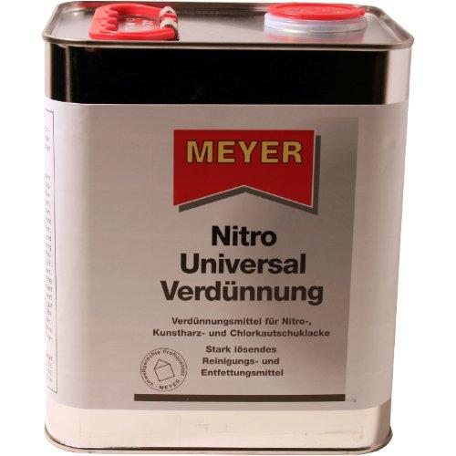 Meyer Nitro Universal Verdünnung - 3 Liter Blechkanister