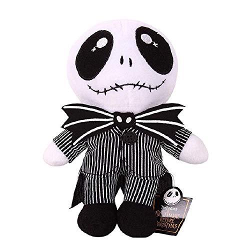 MEKBOK Nightmare Before Christmas Baby Jack Skellington 8 Plush Doll (A)