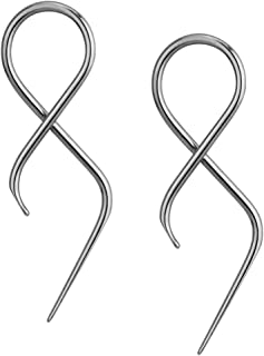 Pair of 16g Surgical Steel 1.4