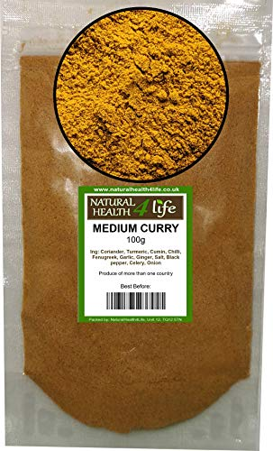 Medium Hot Curry Spice Blend 100g