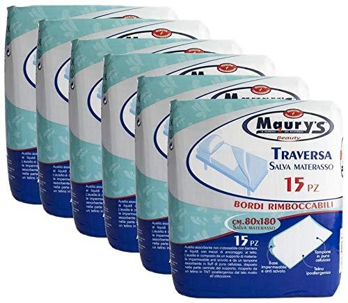 Maury's 90 Traverse Per Letto Matrimoniale Salva Letto 80x180cm 6x15pz