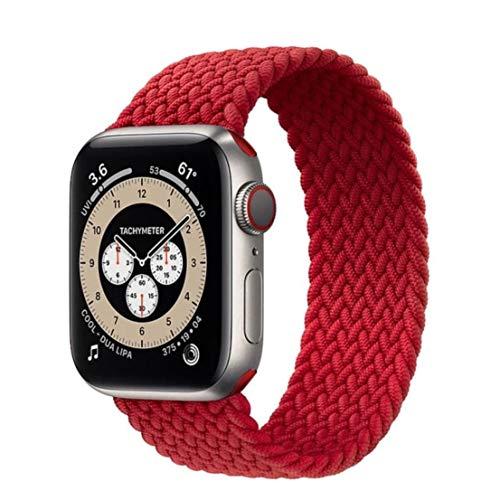 Pulseira Loop Nylon Trançada P/Smartwatch Vermelho 42/44mm