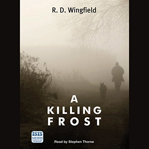 A Killing Frost audiobook cover art