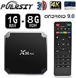 X96 Mini Lecteur Multimédia de Diffusion en continu Android9.0/Boîte TV 4K avec Amlogic S905W Quad-Core chipset, 64 Bits WiFi,4K HD,H.265 by puersit