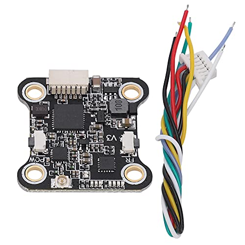 BALITY Trasmettitore Video RC, trasmettitore Video Drone Portatile Semplice e Durevole di Piccole Dimensioni per Drone da Corsa FPV
