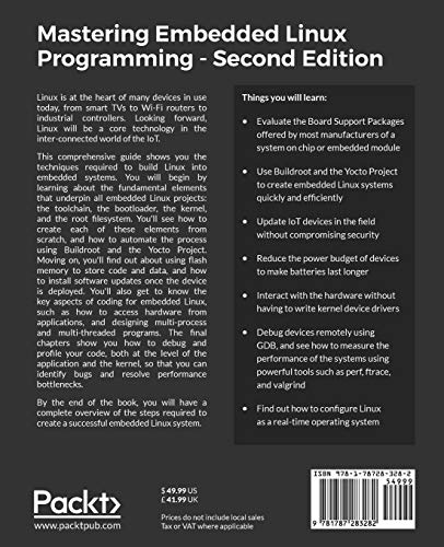 Mastering Embedded Linux Programming -