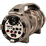 Blackmore BTU-5001-J Pro Audio Rechargeable Speaker With Bluetooth/FM/USB/TF/Mic-In, Jungle Camo