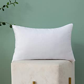 MIULEE Throw Pillow Insert Hypoallergenic Premium Pillow Stuffer Sham Rectangle for Decorative Cushion Bed Couch Sofa 12x20 Inch
