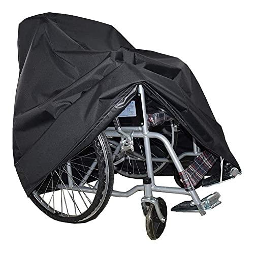 YIQIFEI Funda Impermeable para Silla de Ruedas, Bicicleta, Scooter, Resistente al desgarro, poliéster para Exteriores, Funda Protectora a Prueba de Viento (Silla)