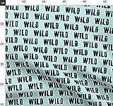 Wild, Typografie, Modisch, Junge, Kinderzimmer,