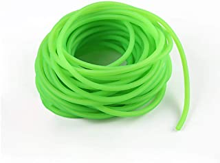 JHONG108 Fluorescent Green Latex Rubber Tubing for Making Professional Slingshot Catapult Outdoor Hunting Replacement 10 Meters