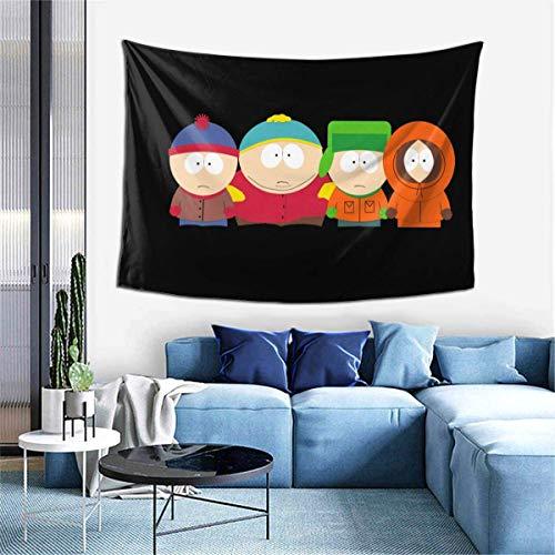 ingshihuainingxiancijies Tapisserie Wandbehang Leichtes Handtuch Wandbild South Park Dekor für Schlafzimmer Wohnheim Party Dinning Hall