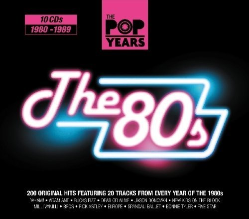 The Pop Years: The 80's, 1980-1989 by VARIOUS ARTISTS (2010-05-04)