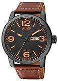 Citizen BM8476-07EE - Reloj analógico de Cuarzo para Hombre, Correa de Cuero Color...