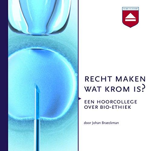 Recht maken wat krom is? audiobook cover art