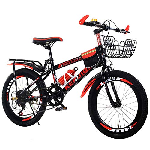 MUYU Adult Kids Bike 20 inch Zithoogte verstelbaar 20 Speed mountainbike