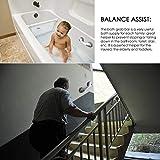 YoungRich Mobiler Badewannengriff Haltegriff mit Saugnäpfen mit Starken Sucker Hand Griff und Aufstehhilfe Sicherheitsgriff Bad Versorgung Balance für Bad Dusche WC Behelfshilfen Werkzeug 28 x 9 x7cm - 6