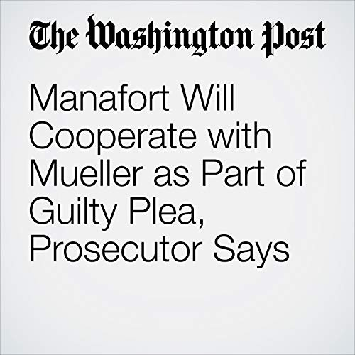 Manafort Will Cooperate with Mueller as Part of Guilty Plea, Prosecutor Says copertina