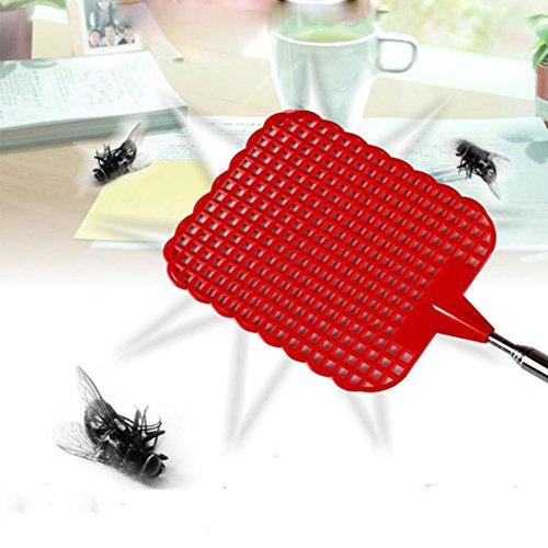 wuayi Nützliche Plastik Teleskop Ausziehbare Fliegenklatsche Verhindern Pest Mosquito Praktisches Werkzeug