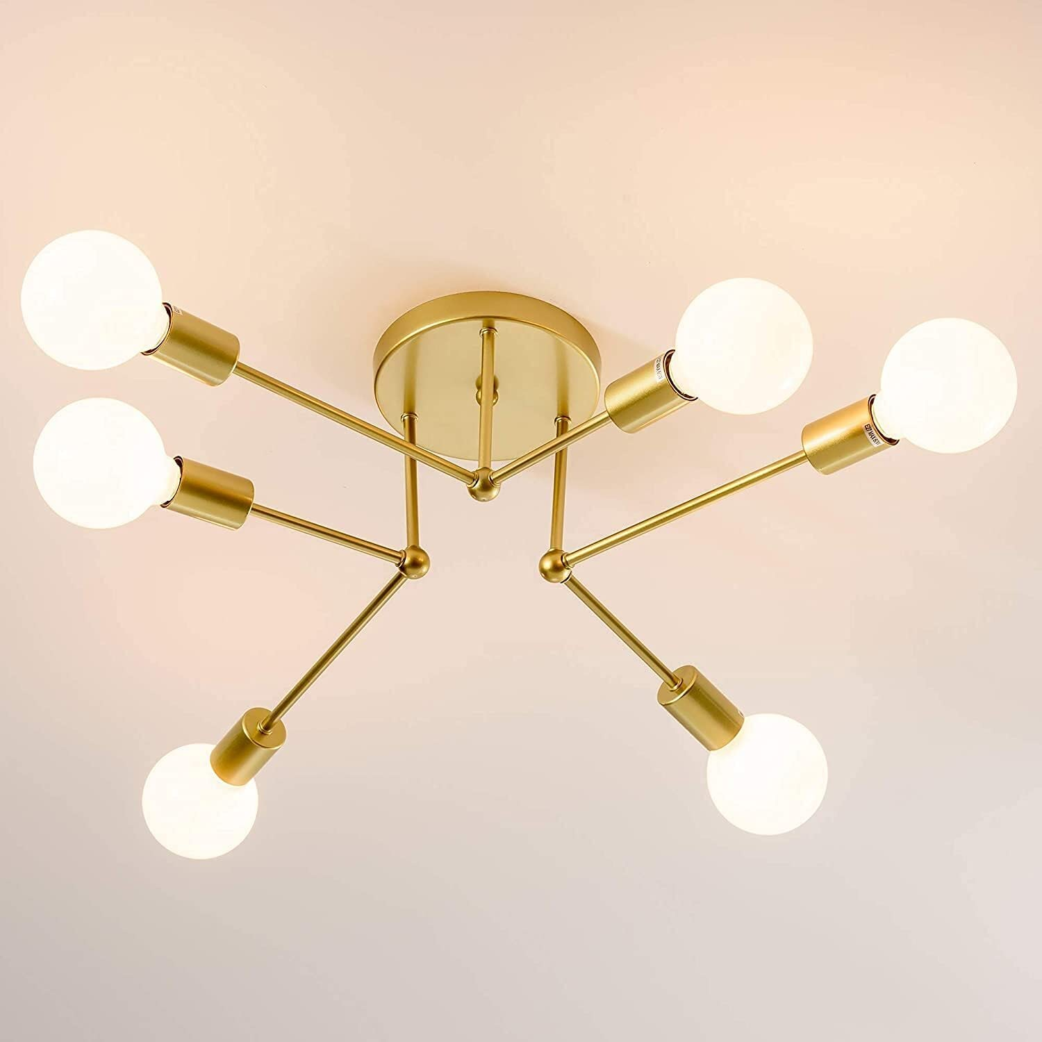 Chandelier Lighting Industrial Cash special price Modern SEAL limited product Ceiling Light Vintage Bla